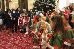 Коледари и сурвакари гостуваха в Народното събрание в навечерието на Коледните празници - Изображение 5